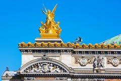 Grand opéra (détail), Paris, France Photos stock