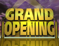 Grand Opening Royalty Free Stock Photo