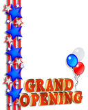 Grand Opening Announcement Template royalty free stock photo