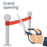 Grand opening concept Stock Images