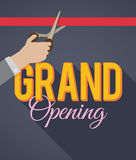 Grand Opening Stock Images
