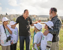 Grand Opening of Gazelle Valley Park in Jerusalem Royalty Free Stock Images