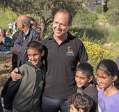 Grand Opening of Gazelle Valley Park in Jerusalem Stock Images