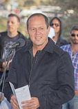 Grand Opening of Gazelle Valley Park in Jerusalem Stock Photo