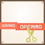 Grand Opening Illustration Stock Image