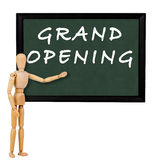 Grand opening Stock Image