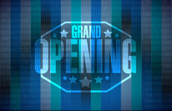 Grand opening modern background Royalty Free Stock Photography