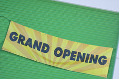 Grand Opening Sign Royalty Free Stock Photos