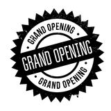 Grand opening stamp Stock Photography