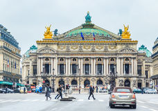 Grand Opera Garnier Palace. Paris, France Royalty Free Stock Photography