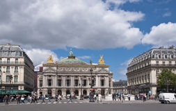 Grand Opera. Paris Stock Photo