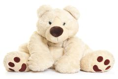 Grand ours de nounours Image libre de droits