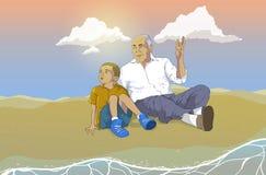 grand-père Photos libres de droits