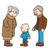 grand-pères Photo stock