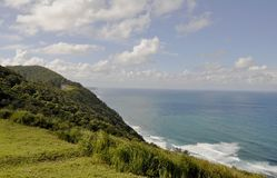 Grand Pacific Drive landscape. Stanwell Park landscape of Grand Pacific Drive, Sydney, Australia stock photography