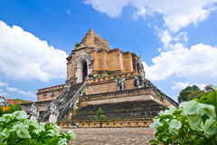 Grand pagoda,Chiang Mai,Thailand Royalty Free Stock Images
