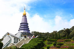 Grand Pagoda in Thailand Royalty Free Stock Image