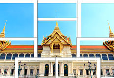 The Grand palac instant photo Royalty Free Stock Photos