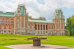 Grand Palace. In Tsaritsyno, Moscow, Russia stock photography