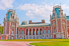 Grand Palace. In Tsaritsino, Moscow, Russia, East Europe royalty free stock photography