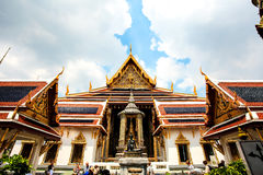 The Grand Palace. Thailand, a magical Buddhist kingdom, while Bangkok also do not want to leave the city you go,It is said that this sculpture is the founder of Royalty Free Stock Photos