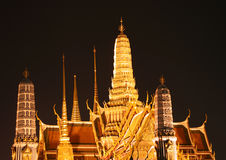 Grand Palace in Bangkok Royalty Free Stock Photography