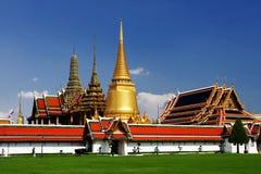 The Grand Palace in Bangkok. Thailand symbol of Thailand stock photography