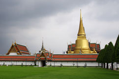 Grand palace in bangkok Stock Image
