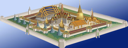 Grand_palace_of_bangkok Royalty Free Stock Photos