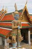 Grand Palace, Bangkok. Large stutue outside part of the Grand Palace, Bangkok, Thailand Royalty Free Stock Images