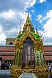 Grand Palace, Bangkok. Bangkok, Thailand - 28 December 2012. Wat Phra Kaew, Temple of the Emerald Buddha Royalty Free Stock Photos