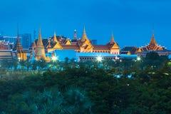 Grand Palace in Bangkok. City center, Thailand royalty free stock photos