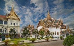 The Grand Palace, Bangkok Stock Photo