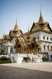 Grand Palace in Bangkok. Garden in the Grand Palace, Bangkok, Thailand royalty free stock images