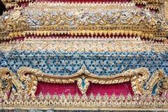 Grand palace : bangkok pattern. Thai mosaic - grunge background base Stock Image