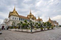The Grand Palace in Bangkok. Royal Grand Palace building in downtown Bangkok, Thailand royalty free stock image