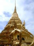 Grand palace, Bangkok, Thailand. Gold Buddhist temple stupa in the Grand palace, Bangkok, Thailand Stock Photography