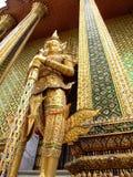 Grand palace, Bangkok, Thailand. Statue guarding the Grand palace, Bangkok, Thailand Stock Photography
