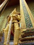 Grand palace, Bangkok, Thailand. Statue guarding the Grand palace, Bangkok, Thailand Royalty Free Stock Photos