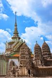 Grand Palace in Bangkok, Thailand Royalty Free Stock Photography