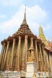 Grand palace in Bangkok,Thailand. Stock Image