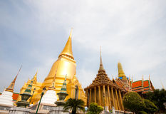 The grand palace in bangkok, thailand Stock Photos
