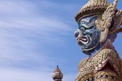 Grand Palace, Bangkok, Thailand. Giant Buddha in Grand Palace, Bangkok, Thailand Royalty Free Stock Photo