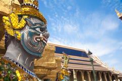 Grand Palace, Bangkok, Thailand. Giant Buddha in Grand Palace, Bangkok, Thailand Stock Image