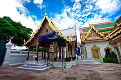 The Grand palace in bangkok,Thailand Royalty Free Stock Images