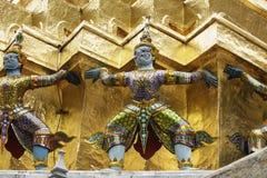 Grand Palace in Bangkok, Thailand.  Royalty Free Stock Photography