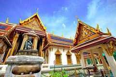 The Grand Palace in Bangkok, Thailand. Royalty Free Stock Images