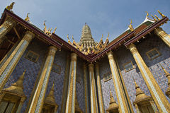 Grand Palace in Bangkok, Thailand. Famous Asia destination, Grand Palace in Bangkok, Thailand Royalty Free Stock Photo