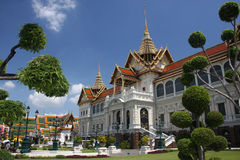 Grand palace in Bangkok Thailand Royalty Free Stock Photo