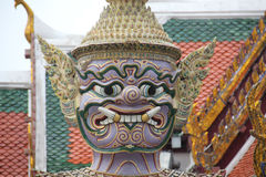 Grand Palace Bangkok, Thailand royalty free stock images